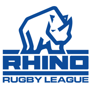 Rhino Rugby League Logo Blue Small
